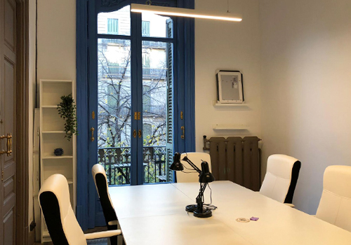 Blue Space - Is Coworking Barcelona